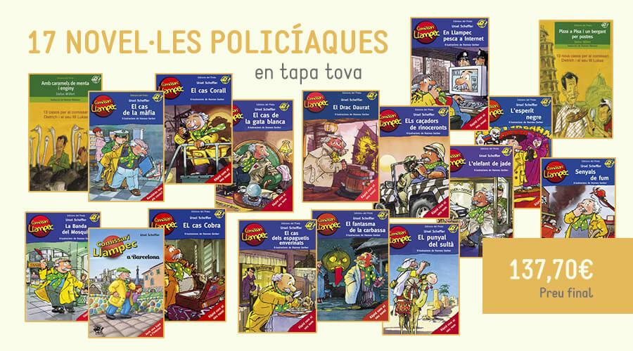 novel·la policíaca, llibres nens, llibres infantils, llibres primaria, comissari llampec,