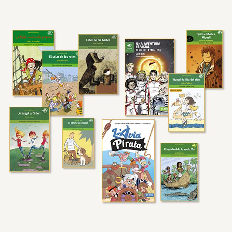 llibres aventures 10 anys, llibres nens, lots, oferta, ficcio infantil,