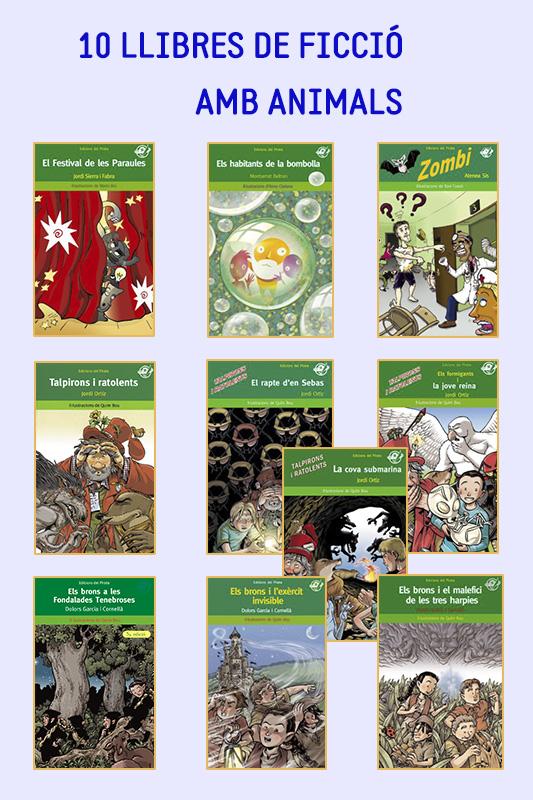 llibres nens, llibres ficcio, contes ficcio, animals, novel·la infantil, primaria,